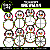 Christmas Spinners Clipart