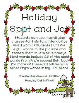 Christmas Spot and Jot