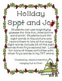 Christmas Spot and Jot