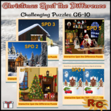 Christmas Spot the Difference Puzzles Collection G6-10 Int