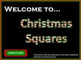 Christmas Squares ActivInspire Game Template (Hollywood Squares)