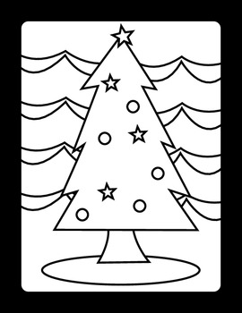 christmas stained glass coloring pages by slate modern tpt. Black Bedroom Furniture Sets. Home Design Ideas