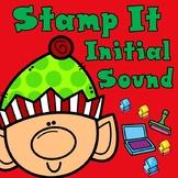 Christmas Stamp It:  Kinder Beginning Sounds