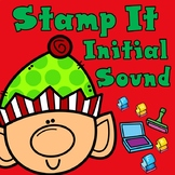 Christmas Stamp It:  Kinder Beginning Sounds