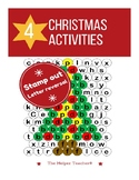 Christmas Stamp Out Letter Reversals
