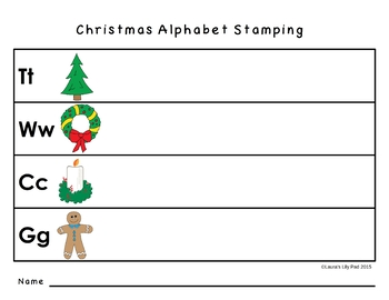 Christmas Stamping
