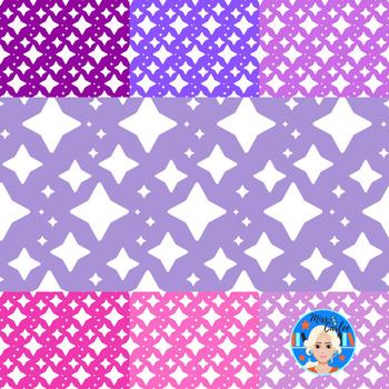 Christmas Star Background/Digital Paper