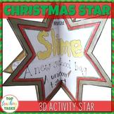 Christmas Star Ornament 3D