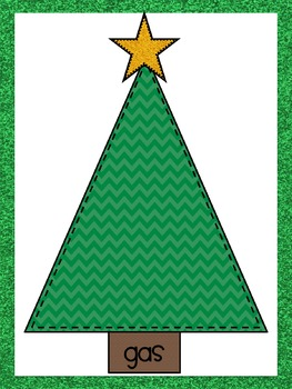 Christmas States of Matter sorting mats