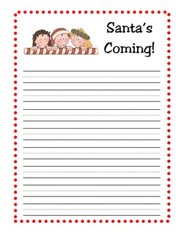 Christmas Stationery for Your Writing Center