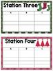 Christmas Stations - Editable Template
