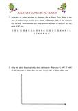 Christmas Statistics Worksheet