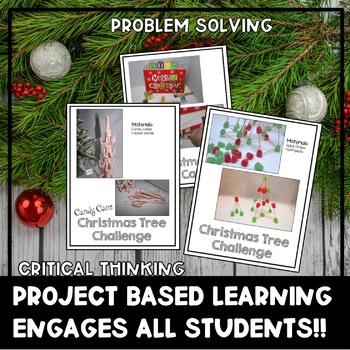 Christmas STEM Challenges