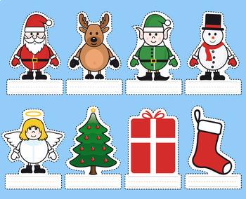Christmas Stick Puppets