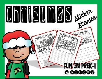Christmas Sticker Stories