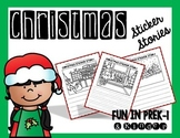 Christmas Sticker Stories