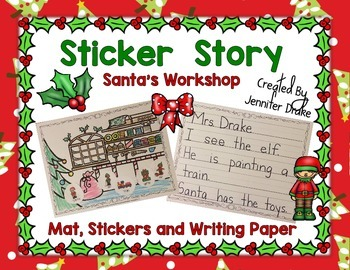 Christmas Sticker Story