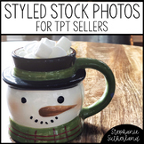 Christmas Stock Photo for Pinterest or Instagram: Hot Cocoa