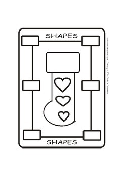 Christmas Stocking Shapes-A (Picture-n-Frame)