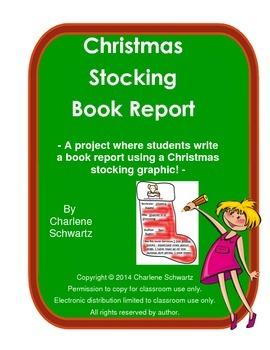 Christmas Stocking Book Report