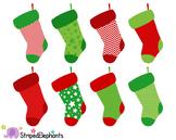 Christmas Stocking Clip Art