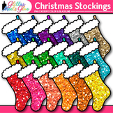 Christmas Stocking Clip Art: Christmas Graphics {Glitter Meets Glue}