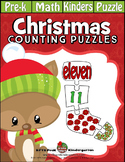 Christmas Stocking 4-PC Counting Puzzles