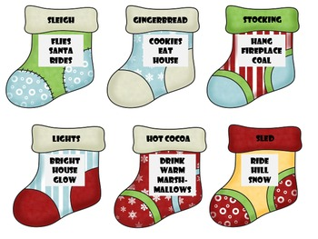 Christmas Stocking Descriptions