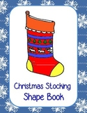 Christmas Stocking Shape Book