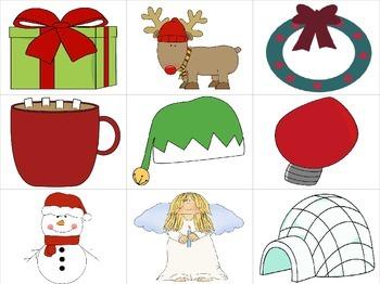 Christmas Stocking Syllable Sorting Activity!