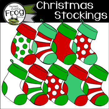 Christmas Stockings Clip Art