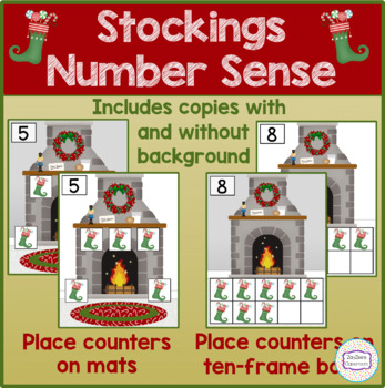 Christmas Stockings Number Sense