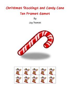 Christmas Stockings Ten Frames games