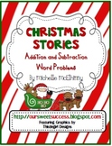 Christmas Stories {Addition and Subtraction Word Problems}