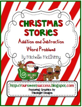 Printables Christmas Subtraction Problems christmas stories addition and subtraction by michelle word problems