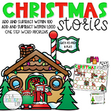 Christmas Stories: Christmas-Themed Word Problem Games