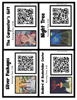 Christmas Stories QR Codes (Freebie!)