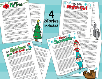 Winter Story Classics - Story Elements - Infer Character traits - Plot - Theme