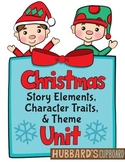 Christmas Stories- Christmas Reading Passages- Christmas Writing- Story Elements