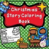 Christmas Story Coloring Book