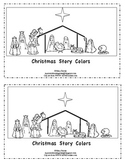 Christmas Story Colors-Kindergarten Emergent Reader