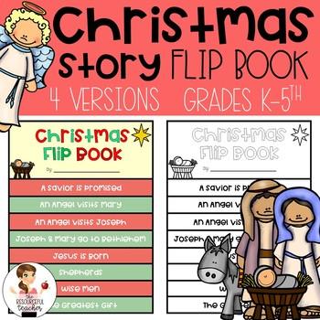Christmas Story Flip Book Religious