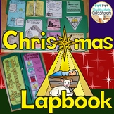 Christmas Lapbook Interactive Kit: Religious Christmas Story|Baby Jesus