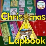 Christmas Lapbook Interactive Kit: Religious Christmas Story Baby Jesus