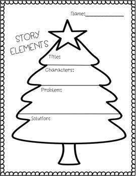 Story Maps (Christmas Themed)