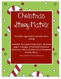 Christmas Story Matrix: A creative approach to narrative writing