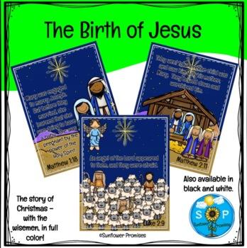 Christmas Story (Matthew and Luke) Scripture Set II