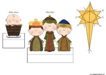 Christmas Story Nativity Diorama Style 1