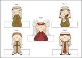 Christmas Story Nativity Finger Puppets Style 1