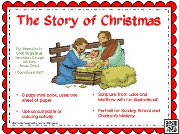 Christmas Story Printable Mini